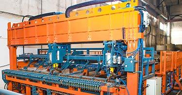 Универсальная линия для заводов ЖБИ